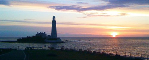St Marys Lighthouse, sunrise, May 29th 2010