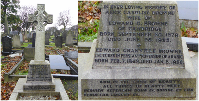Resting Place of Alice and Edward Browne